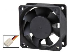 EVERCOOL EC6025M12SA-25103P  6Cm Fan - 3 Pin